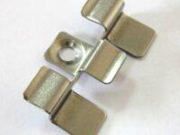 Клипса металлическая 40х32 мм