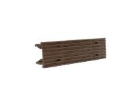 Заглушка торцевая 34*140 мм для террасной доски