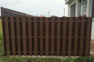 Забор-штакетник из ДПК, Киевская область