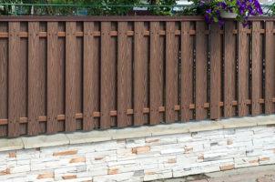 Забор-штакетник из ДПК, Львовская область