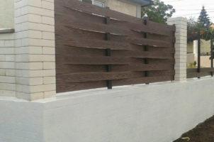 Забор частного дома, Кишинев, Молдова